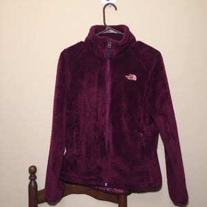 The North Face Purple High-Neck Jacket